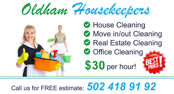 Office and House Cleaning services Price list