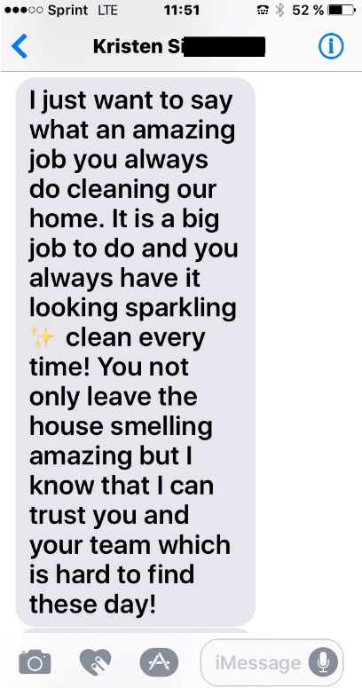 review of cleaning services
